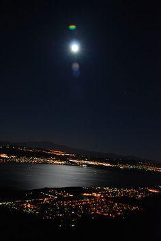 Lake Elsinore Full Moon