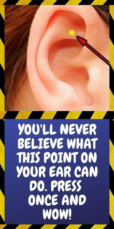 This Is What Happens When You Massage This Point On Your Ear Natural Remedies For Allergies, Natural Headache Remedies, Natural Remedies For Anxiety, Health And Wellness Quotes, Wellness Tips, Health Tips, Healthy Recipes On A Budget, Healthy Living Tips, Usa Health