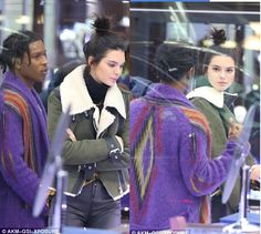 Kendall Jenner And ASAP Rocky Go Shopping With Kylie And Tyga