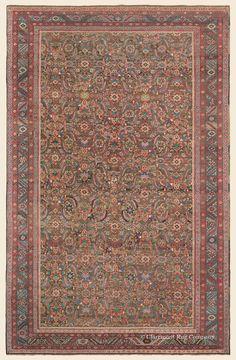 "BAKSHAISH, Northwest Persian Antique  Late 19th Century Rug 6' 0"" x 9' 6"" —Claremont Rug Company"