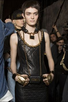 Moschino fall 2014 rtw - behind the scenes