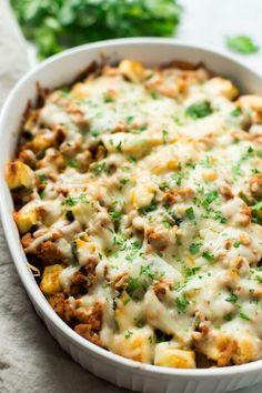 Sweet Potato Zucchini Casserole