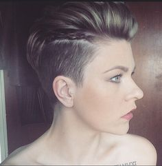 Super Short Hairstyles& New Trends 2015 - 2016