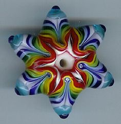I love this Star of David shape with a a kaleidoscope effect!