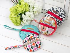 #1065 Dimitra Zipper Pouch PDF by iThinksew - Craftsy