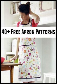 40+ Free Apron Patterns