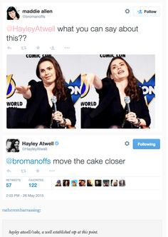 Hayley Atwell is my hero