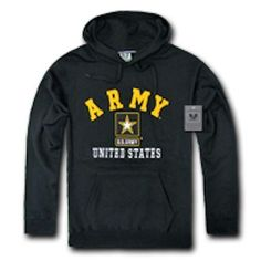 233a63703 Pullover Hoodie Sweatshirt US Military Navy Air Force Army Marines Coast  Guard