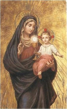 Nuestra Señora del Santísimo Sacramento imágenes - Buscar con Google