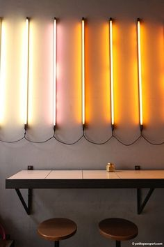 New Ways To Use Fluorescent Lights
