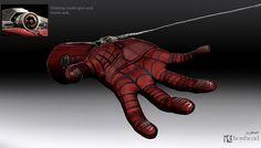 The Amazing Spider-Man 2 Web Shooter Concept Art - Jerad S Marantz-