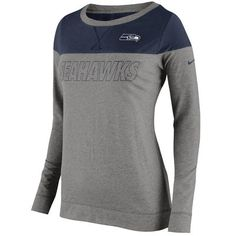 Seattle Seahawks Ladies Mantra T-Shirt - Gray