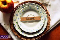 ekto tagi, wienietki ślubne, rustic It, Tableware, Handmade, Wedding, Valentines Day Weddings, Dinnerware, Hand Made, Tablewares, Weddings