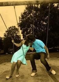 Not really a love saying but I love swinging with my boyfriend <3