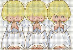 View album on Yandex. Stitch And Angel, Cross Stitch Angels, Cross Stitch Baby, Counted Cross Stitch Patterns, Cross Stitch Charts, Cross Stitch Designs, Cross Stitch Embroidery, Stitch Doll, Christmas Embroidery