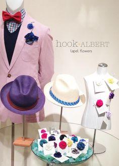 Hook + Albert flower lapels