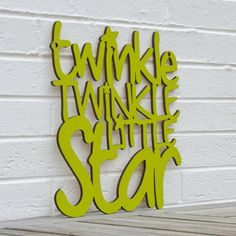 Twinkle twinkle little star just need this in PINK or grey
