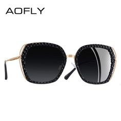 7b8604a131 AOFLY BRAND DESIGN Women Sunglasses Polarized Sun Glasses Female Vintage  Hollow Out Frame UV400 Oculos A130