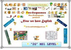MS1 level 2G curriculum Now we have English Ppu speaking lessons I. Utter, say & write the English Alphabets II. Discrimin...