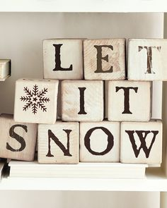 Let it snow..  (just not here!  live in Florida)