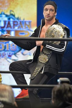 Japan Pro Wrestling, Adam Cole, Professional Wrestling, Captain America, Breathe, Jay, Bullet, Champion, Club