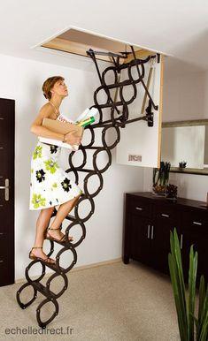 Creative And Inexpensive Useful Ideas: Attic Bathroom Dark attic closet walk in.Attic Bathroom Dark attic low ceiling walk in. Attic House, Attic Closet, Tiny House, Attic Wardrobe, Attic Ladder, Attic Stairs, Loft Ladders, Attic Renovation, Attic Remodel