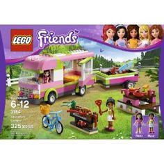 Amazon.com: LEGO Friends 3184 Adventure Camper: Toys & Games