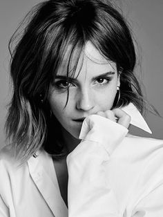 Emma Watson photographed by Kerry Hallihan for Entertainment Weekly, March 2017.  Pinned by @lilyriverside