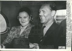 Doris Duke and husband Cromwell. Stepson of E. T. Stotesbury