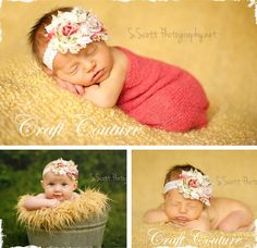 $6 Country Shabby Chic Flower - Headband or Clip! at VeryJane.com
