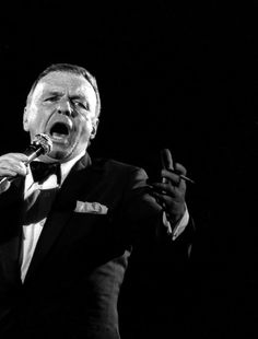 Frank Sinatra .New York New York I always cry when I hear this it's just so perfect