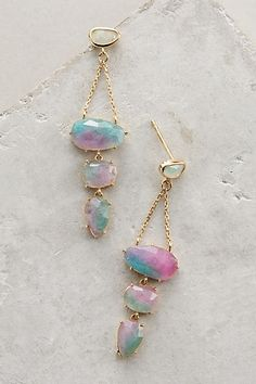 Summerfruit Chandelier Earrings - anthropologie.com