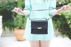 Melina Souza - Serendipity <3  http://melinasouza.com/2015/04/27/more-mint-in-my-life/  Dress: SHEINSIDE Flats:Tutu Ateliê de Sapatilhas Bag: Forever 21   #Look  #Melina Souza  #Tutu Ateliê de Sapatilhas