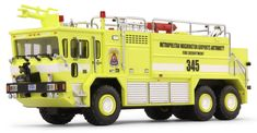 Code 3 Collectibles Ronald Regan Airport T3000 Oshkosh Crash Truck
