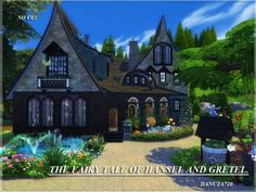 The Sims Resource: The fairy tale of Hansel and Gretel by Danuta720 • Sims 4 Downloads
