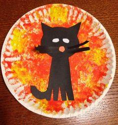 cat craft | ... Activities: Halloween Cat Craft — Toddler Activities, Games, Crafts