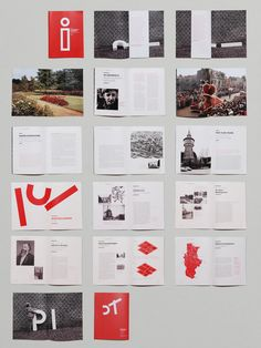 A brochure design for the Pinneberg Museum.