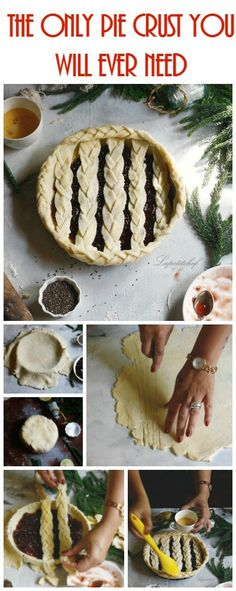 The only pie crust you will ever need and a basic guide on...