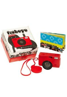 Fisheye One Lomography Camera | This little guy is the first 35mm fisheye lens compact camera in the world!