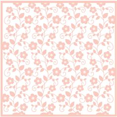 Silhouette Design Store - View Design #26234: floral vine background (cameo)