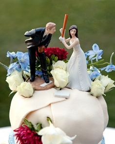 this cake topper is fit for the baseball diamond photo mike krautter www