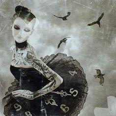 華麗暗黑的哥德系藝術家:Natalie Shau - 圖片21