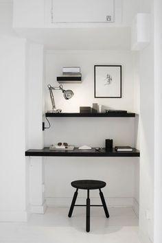 5 idées pour aménager un bureau dans un petit espace - FrenchyFancy