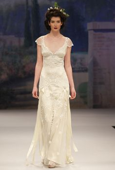 Edwardian inspired bridal gown CLAIRE PETTIBONE Toulouse