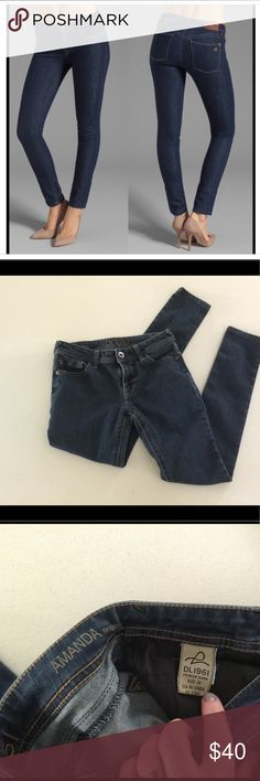 """DL1961 Amanda skinny jeans SZ 25 DL1961 """"Amanda"""" skinny jeans in SZ 25 with 28"""" inseam.  In EUC, no rips, stains or flaws. DL1961 Jeans"""