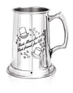 Best Man Pewter Tankard - One Pint