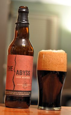 "Deschutes Brewery: The Abyss.  ""I've had the pleasure of trying and now I want more!"""