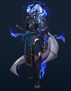 ArtStation - Pale Fame, Hui Zou Fantasy Character Design, Character Design Inspiration, Character Concept, Character Art, Painting Inspiration, Fantasy Armor, Dark Fantasy Art, Dnd Characters, Fantasy Characters