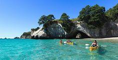 Entdecken Sie auf Neuseeland Seehöhlen, vulkanische Inseln und faszinierende Fische. ©  Adam Bryce / New Zealand Tourism