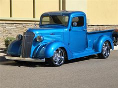 Sold* at Scottsdale 2012 - Lot #77 1937 CHEVROLET CUSTOM PICKUP